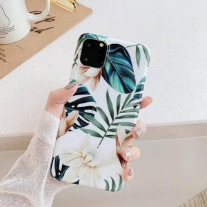 NEW iPhone 11/Pro/Max/XR Leaf Flower Case